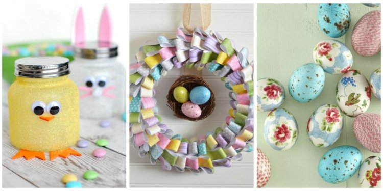 50 Easy Easter Crafts - Ideas