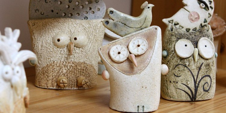 1+ images about clay owls