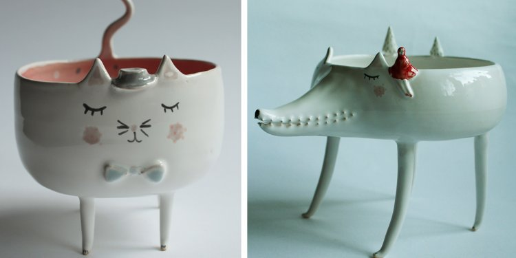 Adorable Animal Ceramics By