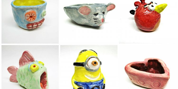 Clay Pinch Pot Ideas