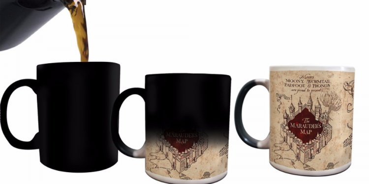 Harry Potter mugs Marauders