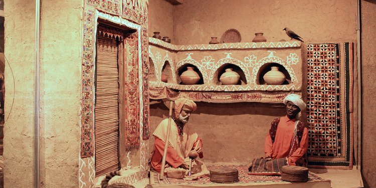 Snake charmers at Lok Virsa Museum