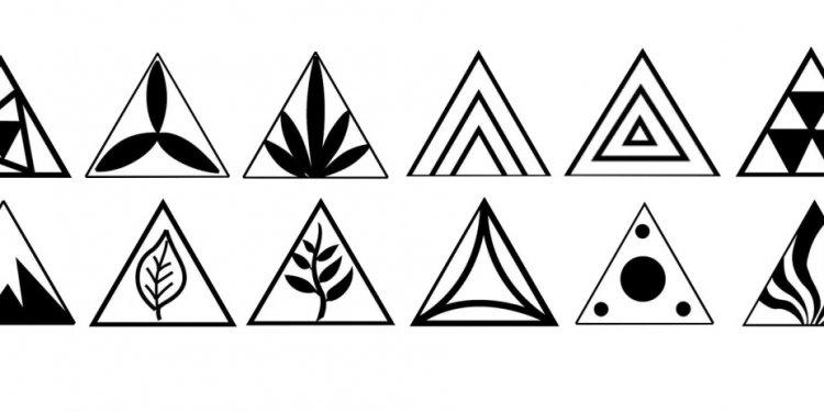 MKM Pottery Medium Triangles