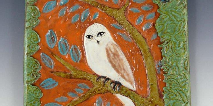 White Owl, Orange Sky