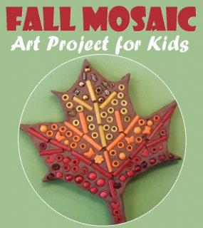 Fall Mosaic Art Project